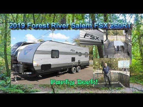 New 2019 Forest River Salem Fsx 260rt Mount Comfort Rv Forest