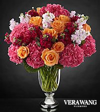 The FTD® Astonishing™ Luxury Mixed Bouquet by Vera Wang - VASE INCLUDED