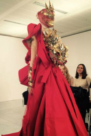 John galliano for maison margiela s s 2015 artisanal jan for Galliano margiela