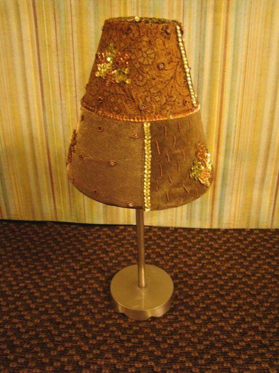 Vintage Velvet Candle Holder $27