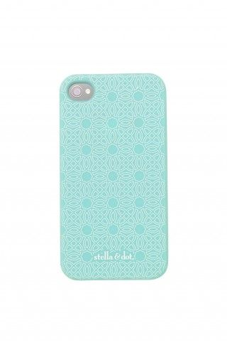 Dress up and protect your iPhone 4 with our Signature Stella & Dot iPhone Case.
