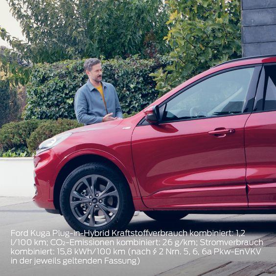 Ein Auto Wie Fur Euch Gemacht Der Neue Ford Kuga Plug In Hybrid