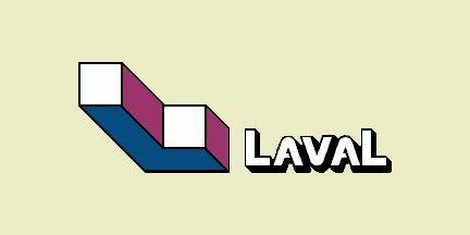 Flag of Laval, Québec