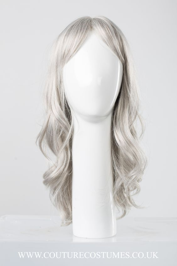 Mermaid Grey Wig  www.couturecostumes.co.uk