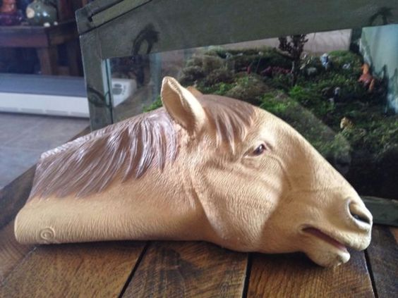 Mask Illusions Horse hand puppet