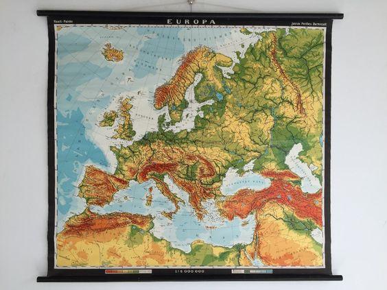 Kaart uit de klas van Europa, 100 euro