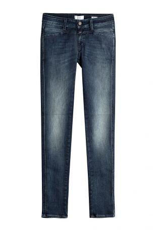 Closed Closed Skinny Jeans Pedal Star – Blau