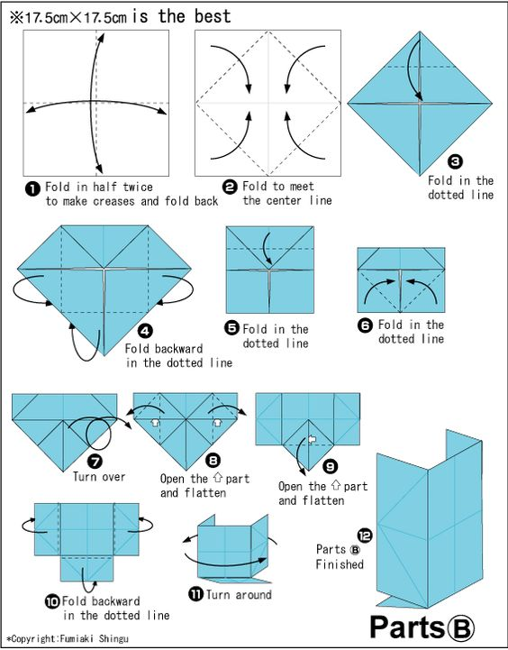 origami japanese school bag origami pinterest