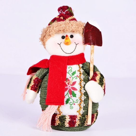 Lovely Christmas Dolls Snow Man Xmas Toys Gifts for Room Decorations Ornaments *** Remarkable product available now. : Collectible Dolls for Home Decor