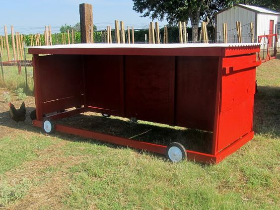 Mobile Cattle Shelter : Mobile animals shelters for your sheep goats mini ponies