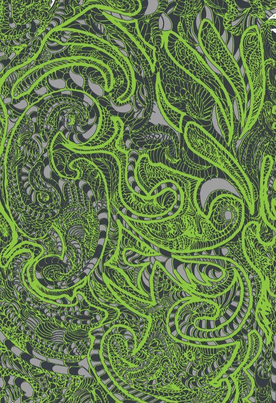 Download Ink Pattern - Drawn and Traced Pattern Download