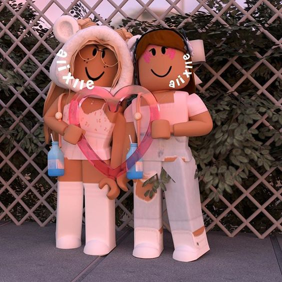 Bff Forever Cute Tumblr Wallpaper Roblox Animation Roblox Pictures