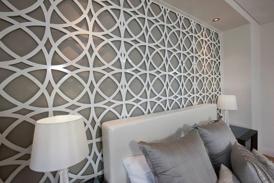 Feature Walls Bedrooms And Design On Pinterest