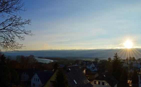 """Ausblick von der Ferienwohnung """"Zum alten Pfau"""" im Ostseebad Göhren auf der Insel Rügen - Ihre private Unterkunft an der Ostseeküste"""