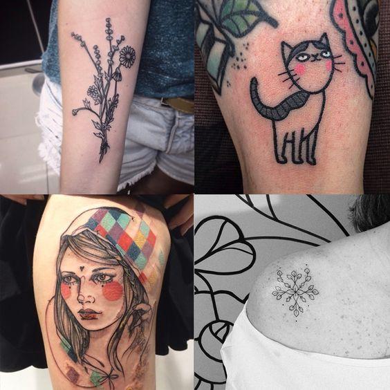 Tattoos Fofas - 10 perfis inspiradores de tatuagem para seguir no Instagram;