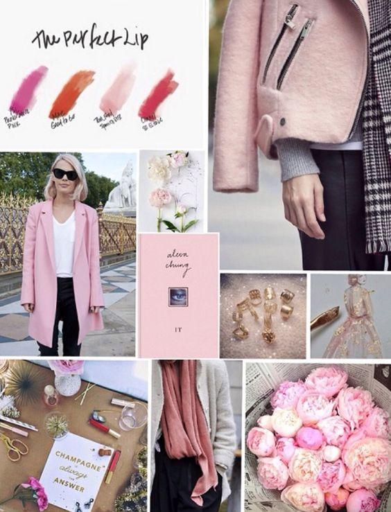 Moodboard la vie en rose