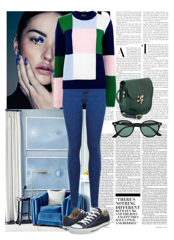 """""""Untitled #191"""" by lillianscollins ❤ liked on Polyvore featuring Nicki Minaj, Miss Selfridge, Markus Lupfer, Converse, Ray-Ban, women's clothing, women, female, woman and misses"""