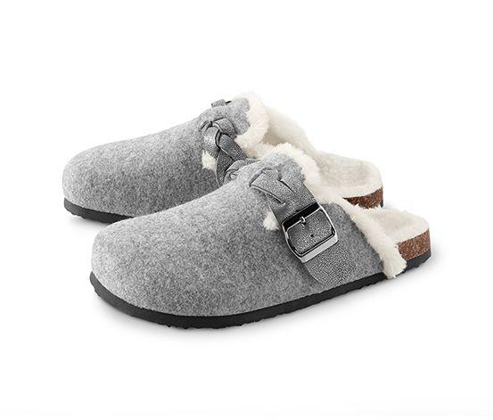 Női házicipő, szürke | Shoes, Shoe bag, Slippers