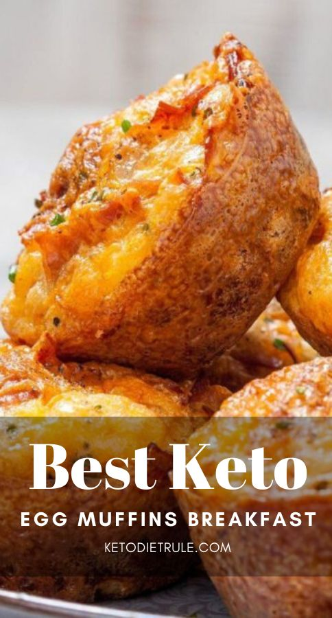 Keto Egg Muffins Breakfast Recipe