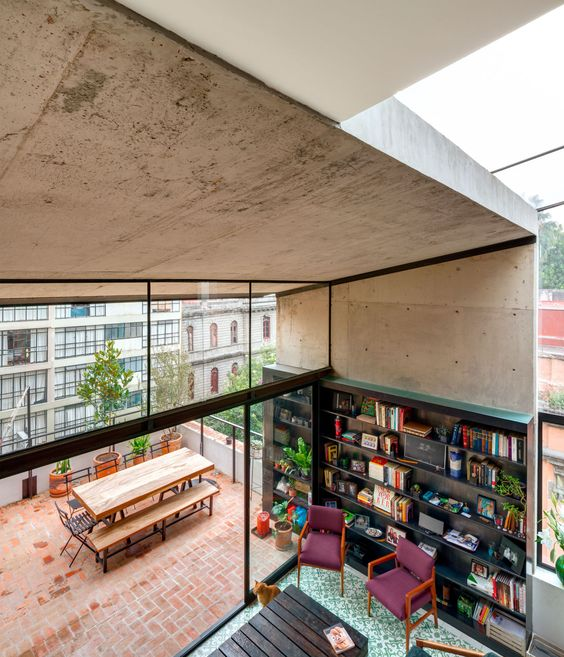 Restoration and Recycling project in the heart of Mexico City