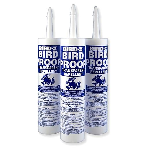 Bird X Bird Proof Gel Repellent 3 Pack Bp Trial Birds Pest