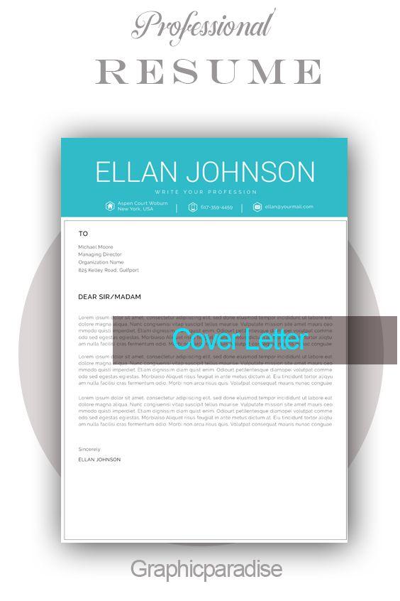 Canva Resume Template Resume Template Creative Resume Etsy Resume Words Resume Template Professional Resume Template Word
