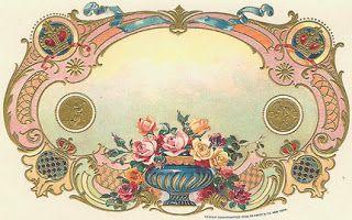 Moldes e Massas: Rotulos para frascos Vintage