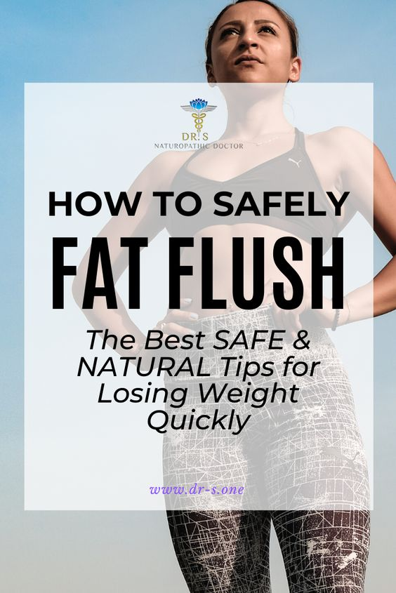 "What is a fat flush? You can't literally ""flush"" fat from your body, but it's a figure of speech for jump-starting your metabolism to quickly burn a higher amount of fat than normal, for a short period of time. There are safe ways to fat flush — and unsafe ways. In this post, we'll discuss 9 simple ways to SAFELY practice fat flushing through diet, calorie restriction, fasting, and various forms of detoxing."
