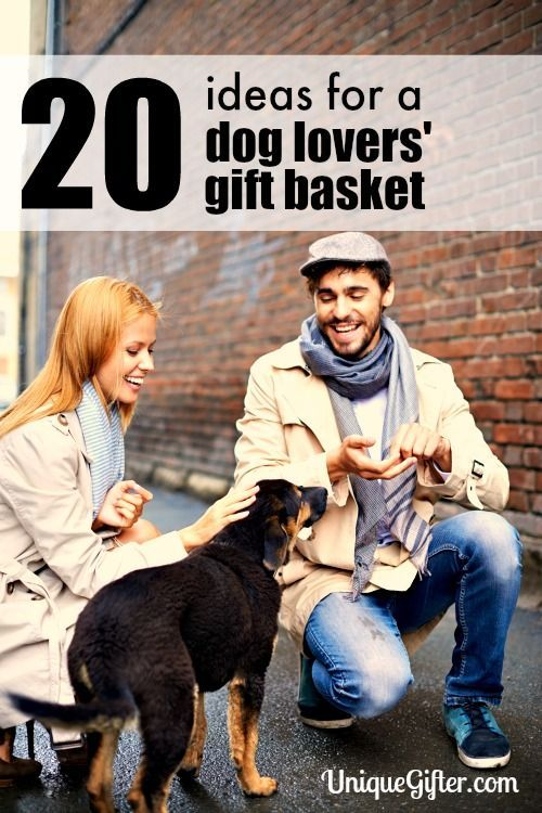 These ideas will make such a cute dog lovers' gift basket! I've never even seen number 3 before.