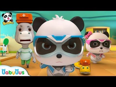 Run The Building Is Collapsing Super Panda Rescue Team 7 Kids Cartoon Baby Songs Babybus Youtube Cartoon Kids Baby Cartoon Team 7