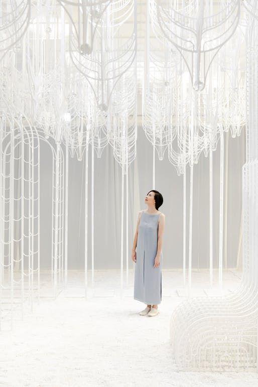 The Garden Of Eden Is Reimagined With Pamela Tan S Ethereal Installation Garden Of Eden Eden Ethereal