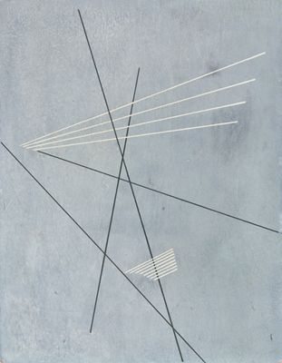 Aleksandr Rodchenko, LInear Construction, 1919: