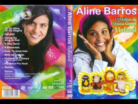 Aline Barros O Melhor Da Musica Gospel Infantil Dvd Completo