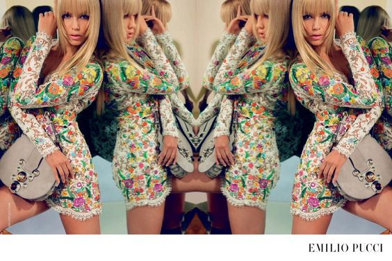See the trends with the #SS15 campaigns inc. #natashapoly for @EmilioPucci in summer brights. http://voguefr.fr/SS15campaigns