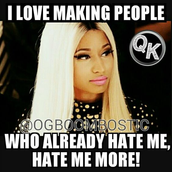 Image result for nicki minaj petty memes