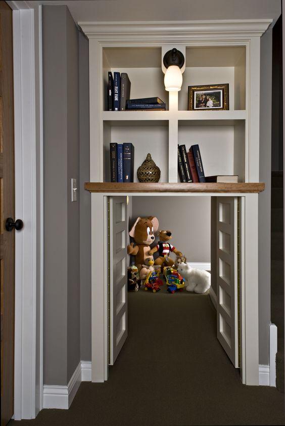 D.T. Carlson Co | Custom Homebuilder #Minneapolis #Minnesota #custombuild #creative #kids #kidsroom #playroom #builtin #toys