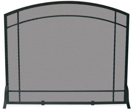 Amazon.com: Uniflame Single Panel Black Wrought Iron Mission Screen: Home & Kitchen