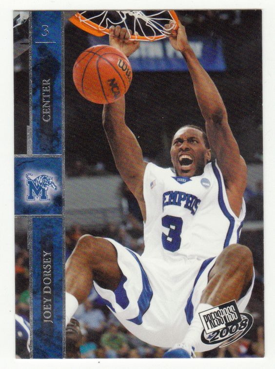 Joey Dorsey # 5 - 2008 Press Pass Basketball
