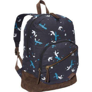 $37 Amazon.com: Roxy Luggage Long Time Backpack, Black, One Size: Clothing