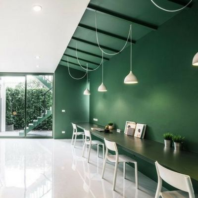 Isyeri Ve Ofis Duvar Boya Renkleri Ev Boyama Boya Renkleri Ofisler Renkler