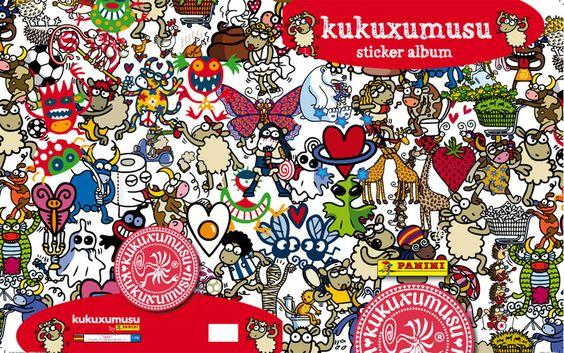 El universo Kukuxumusu en un álbum de Panini - Kukuxumusu