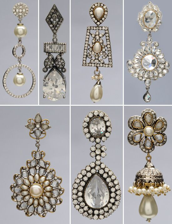 vintage earrings - so many options are available on eBay!
