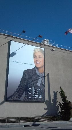Glitterati Private Tours: When in Los Angeles, make sure to book ahead for a show taping.  Pictured, The Ellen Show,  which tapes at #Warner #Bros. Studio in Burbank.  http://celebhotspots.com/hotspot/?hotspotid=6501&next=1