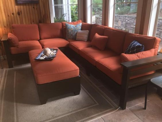 Diy Outdoor Sectional From 2x4s Outdoor Furniture