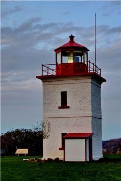 Goderich Lighthouse on Lake Huron - Ontario