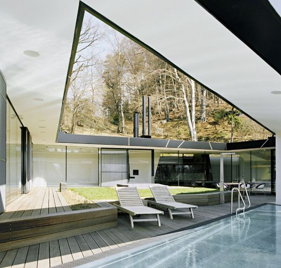 HOUSE RT BY DELUGAN MEISSL, A SYMBIOSIS WITH NATURE - http://www.lanciatrendvisions.com/en/article/house-rt-by-delugan-meissl-a-symbiosis-with-nature
