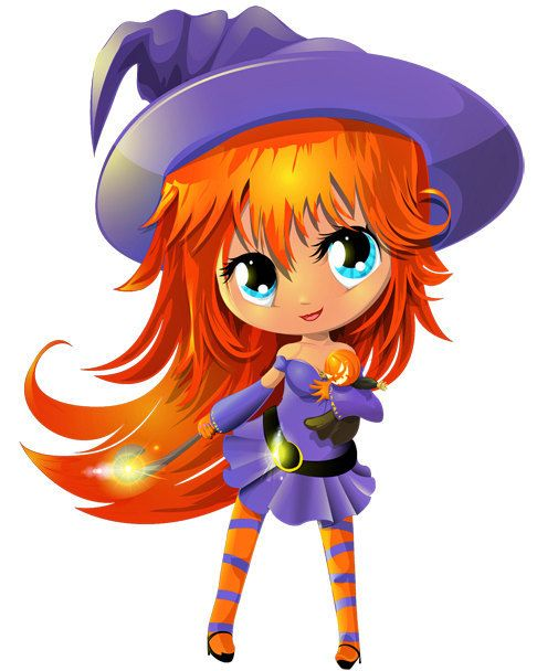 cute anime witch image anime witch cutout halloween witch image large teen good - Cute Halloween Witches