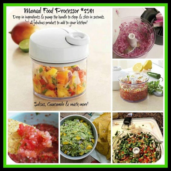 pampered chef manual food processor reviews