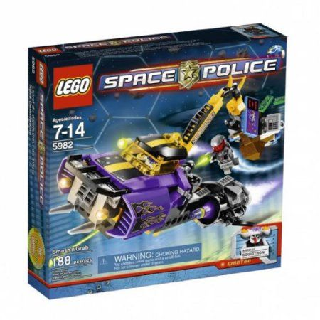 Lego Space Police Smash N Grab 5982 Walmart Com In 2020 Lego Space Police Lego Space Lego For Sale