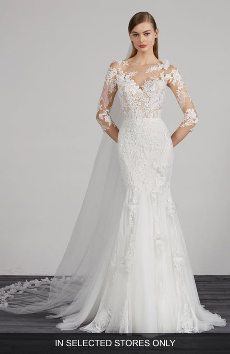 Wedding Dresses Bridal Gowns Nordstrom Pronovias Wedding Dress Wedding Dress Long Sleeve Wedding Dress Couture